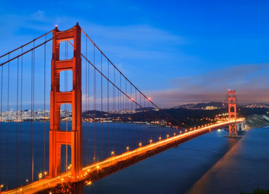 Photo of San Francisco's Golden Gate Bridge