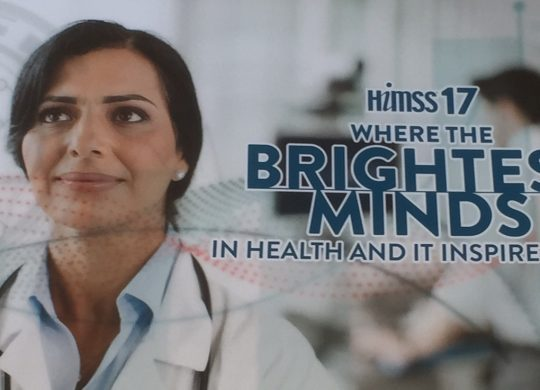 HIMSS17 marketing material