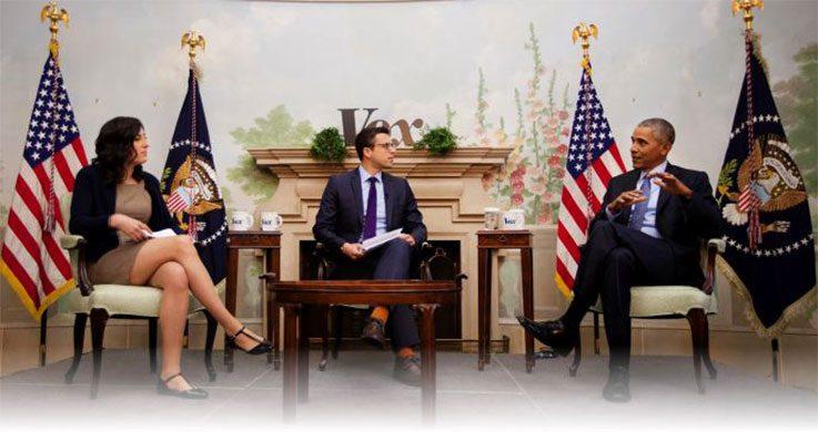 Kliff meeting with President Barack Obama