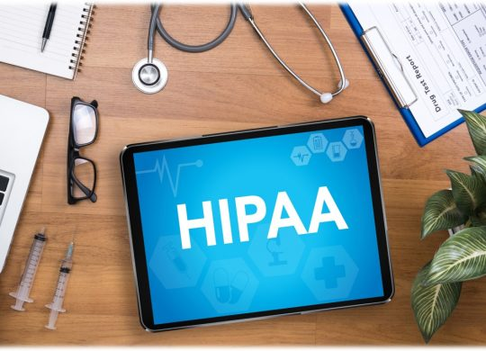 HIPAA doctors device photo